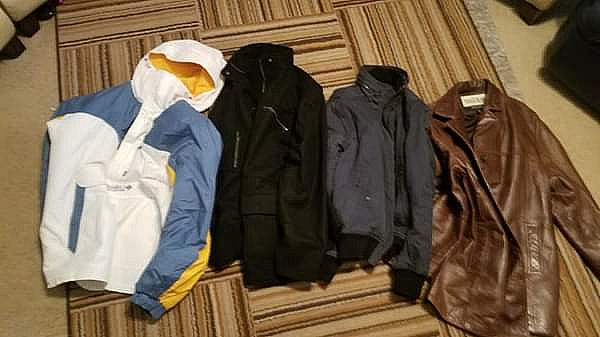 ad jackets columbia wilsom h&m rc comstock