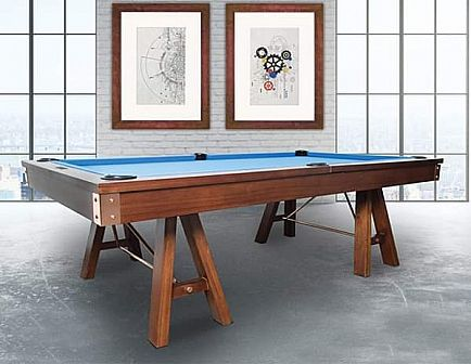 ad christmas = johnson pool table by presidential billiards