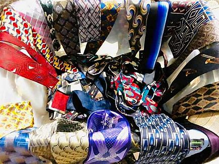 ad men's ties (about 35 ties give or take)