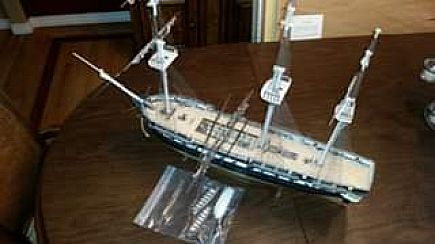 ad uss constitution model (built)