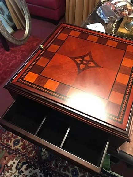 ad remember the bombay deluxe game box? chess, checkers, backgammon and cards .. see notes n pics