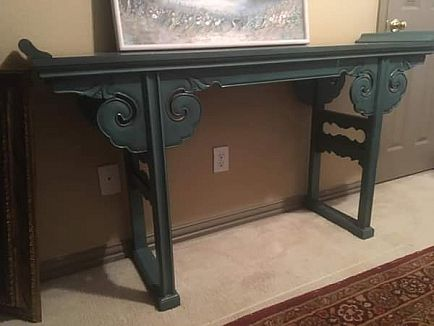 ad console/entry table