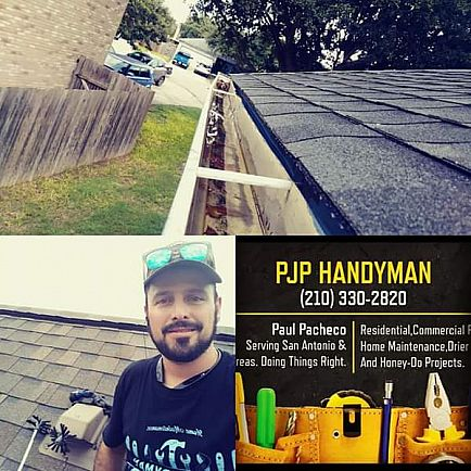 ad dryer vent cleaning and power washing. handyman