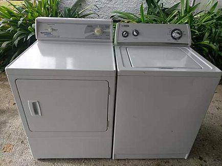 ad washer & electric dryer (4 prong)