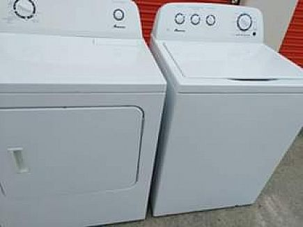 ad washer and dryer set(3 prong electric)
