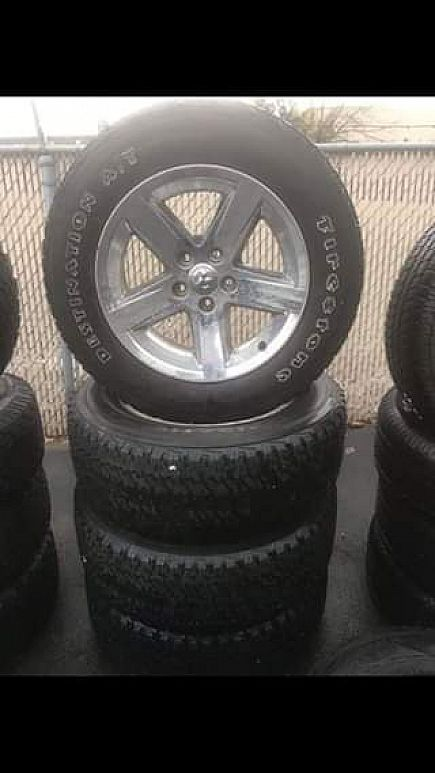 ad dodge ram factory 20 inch wheels and tires