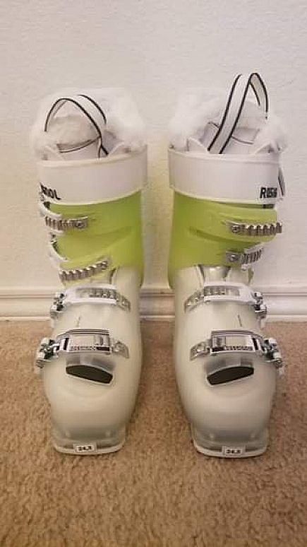 ad rossignol alltrack pro 80 size 24.5 never been used ski boots asking 175