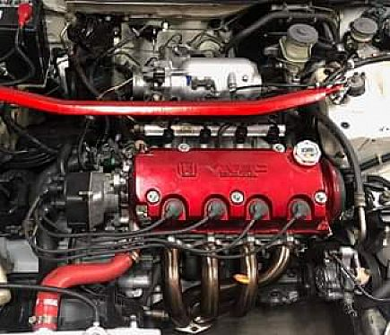 ad d16b2 vtec honda civic si rebuildable engine