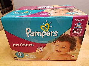 ad pampers cruisers sz 4