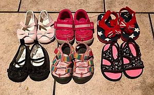 ad toddler shoes size 3