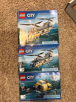 ad lego deep sea helicopter