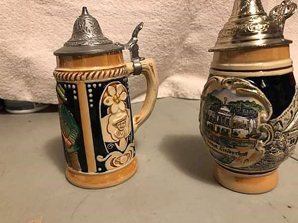 ad german beer steins