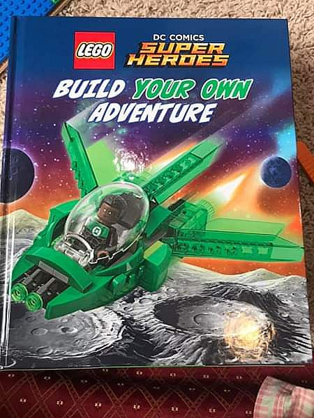 ad lego superheroes book with build your own lego