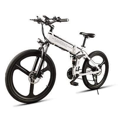 ad samebike lo26 moped electric bike smart folding bike e-bike
