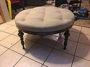 ad upholstered ottoman