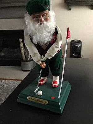 ad antiques & collectibles santa as a golfer like new troy, ny · over a week ago · $10 viewed by 3 peo